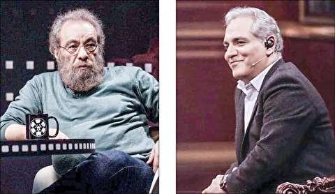 کنایه سنگین مسعود فراستی به مهران مدیری در برنامه دورهمی