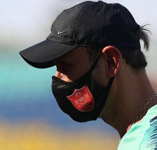 ماسک یحیی سبب عصبانیت پرسپولیسیها شد