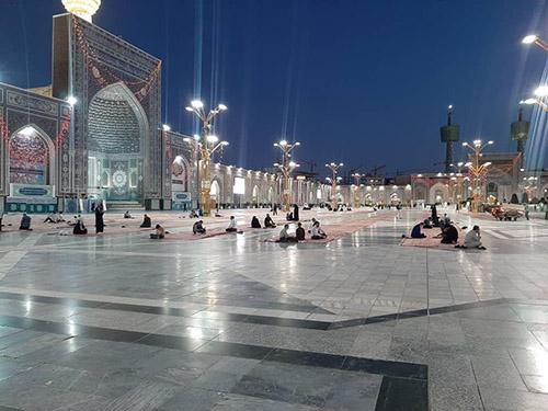 صحنهای حرم مطهر رضوی بازگشایی شد +عکس