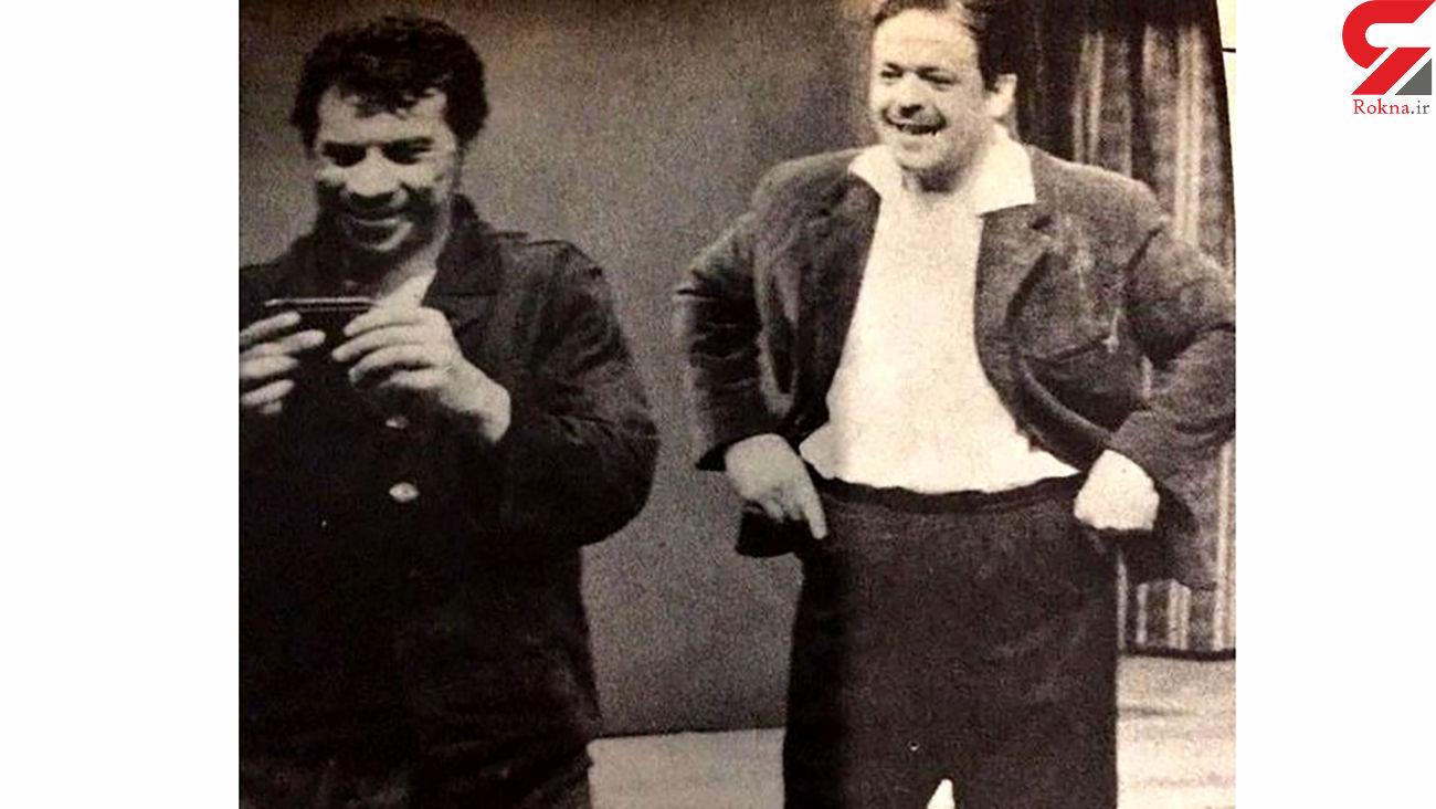 عکس زیرخاکی از محمدعلی کشاورز و داوود رشیدی