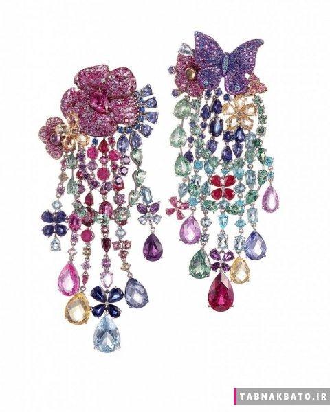 یاقوتهای رنگی در جواهرات معروفترین برندهای جهان