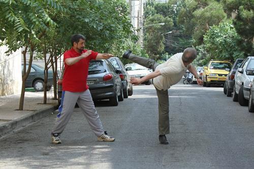 فن بروسلی احمدزاده به محمود شهریاری+عکس