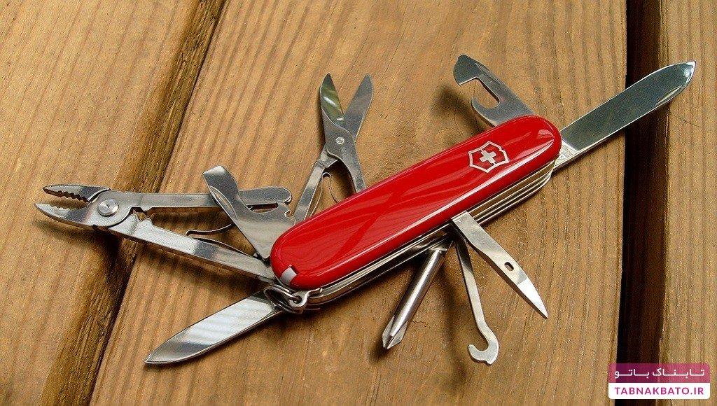 دانستنیهای جالب درباره چاقوهای ارتش سوئیس