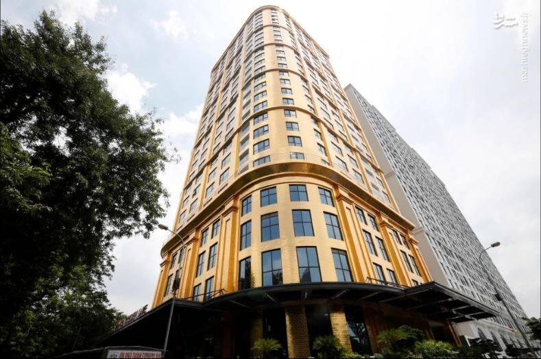 نخستین هتل با روکش طلا در جهان+عکس