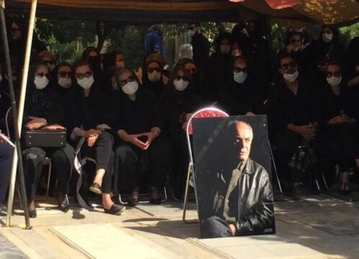 مراسم تشییع و خاکسپاری سیروس گرجستانی