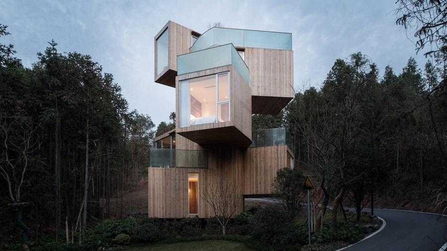 خانه هایی با معماری عجیب که در مکان هایی باورنکردنی و غیرممکن ساخته شده اند (بخش چهارم)