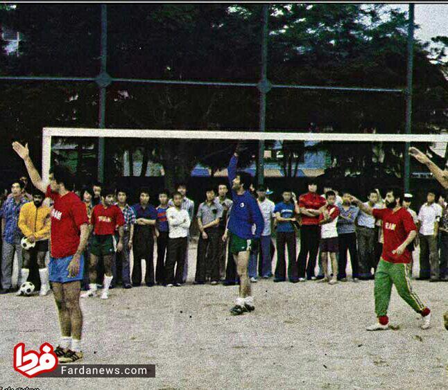 وقتی تیم ملی در زمین خاکی بازی میکرد +عکس