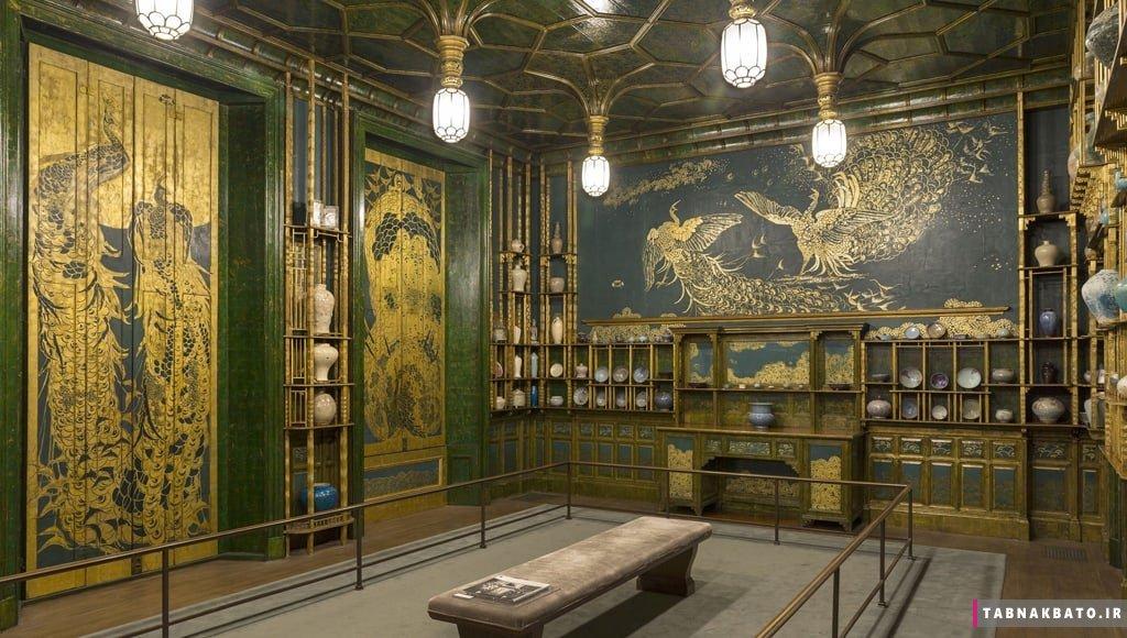 داستان اتاق طاووس و هنرمند سرکش
