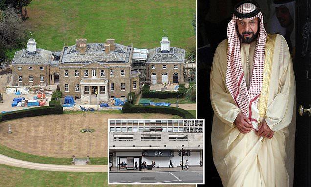 اقدام عجیب و جنجالی امیر ابوظبی در کاخ خود در انگلستان