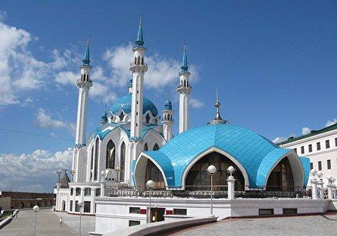 معماری جالب مسجدی بدون ستونهای داخلی