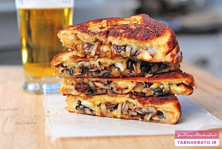 اسنک قارچ و پنیر، میانوعدهای پرطرفدار