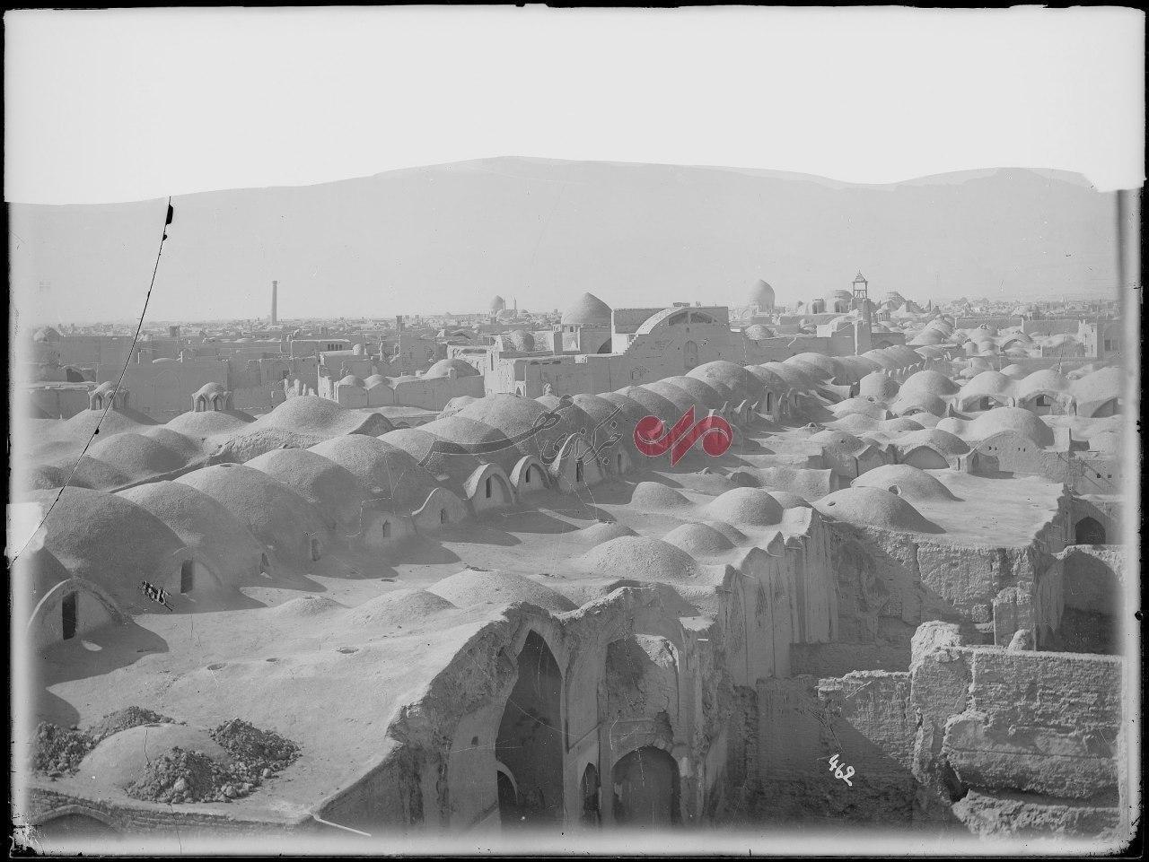 عکسی کمتر دیده شده از شهر کاشان