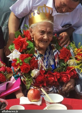 جشن تولد ۱۰۴ سالگی پیرترین زن جهان+عکس