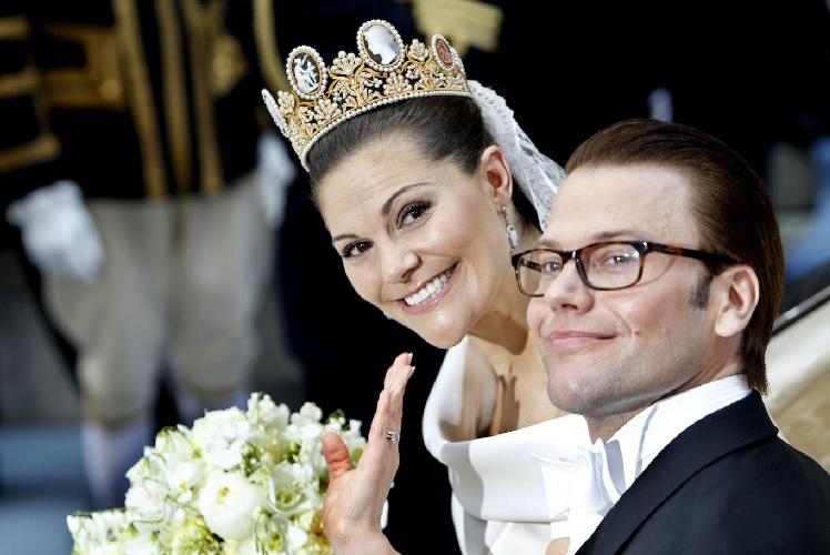 ماجرای تاج سلطنتی پرنسس ویکتوریا، دختر پادشاه سوئد