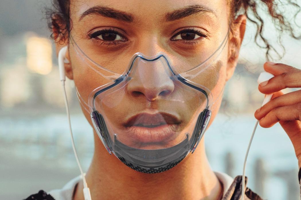 نخستین ماسک شفاف دنیا با استاندارد N99+ که لبخند شما را پنهان نمیکند!