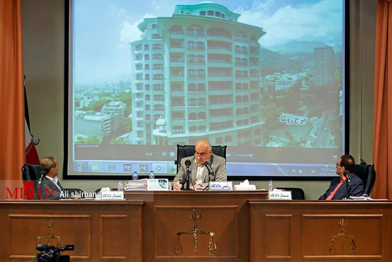 برجهایی که در دادگاه طبری رو شد+عکس