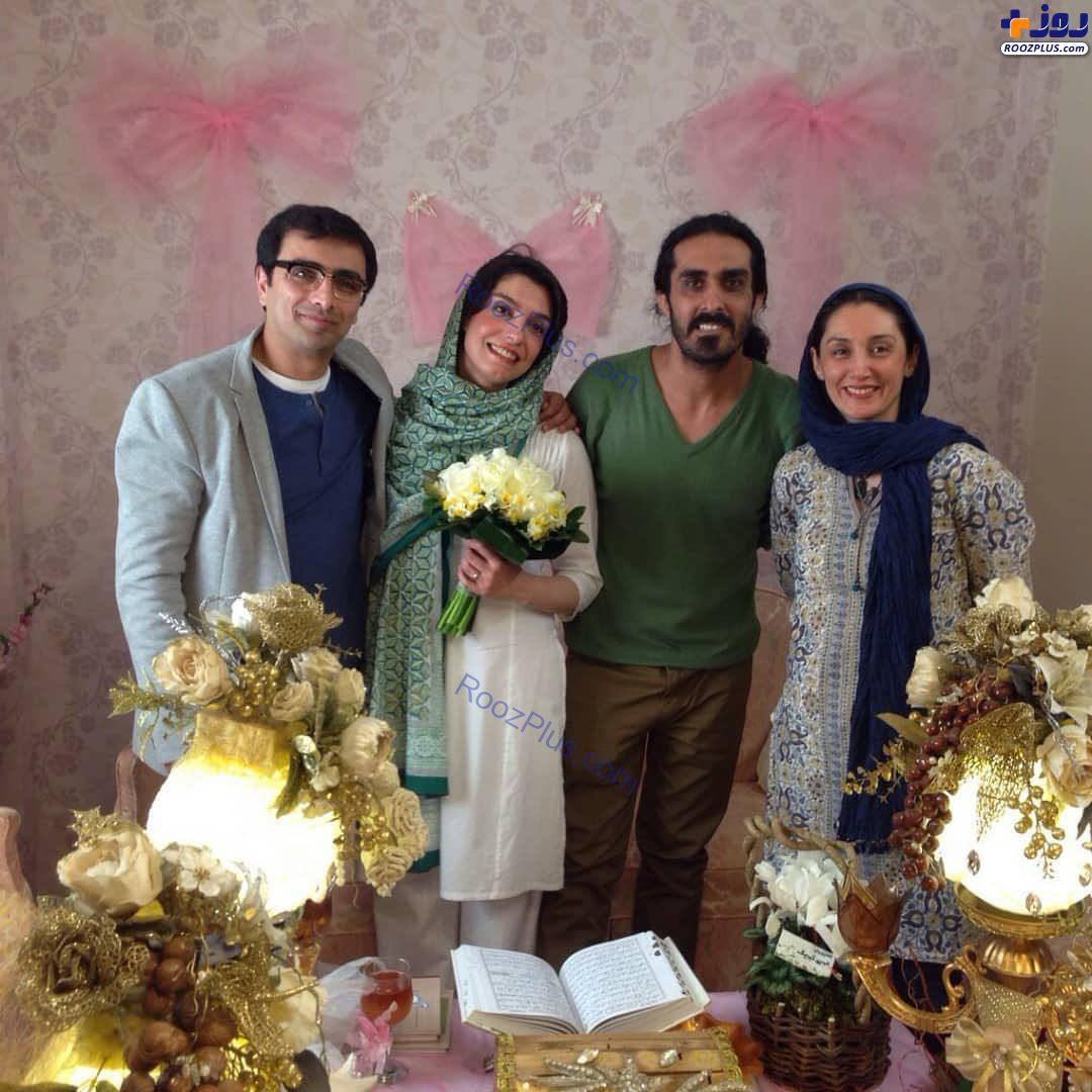 هدیه تهرانی میهمان ویژه مراسم عقد الیکا عبدالرزاقی+عکس