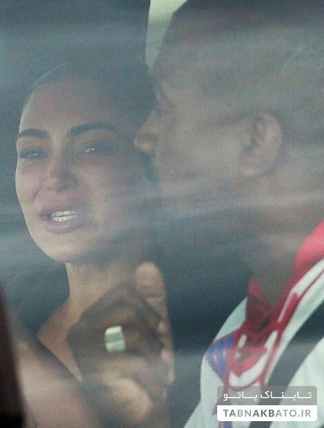 اشکهای چهره معروف بر اثر بحران خانوادگی