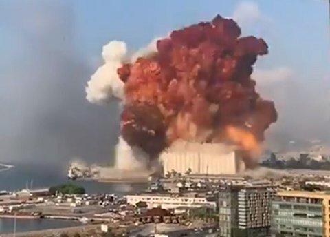 انفجار وحشتناک و وضعیت فعلی بندر بیروت پس از وقوع