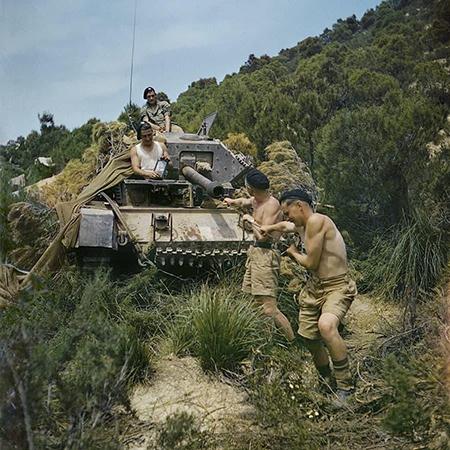 عکسهای رنگی جنگ جهانی دوم!