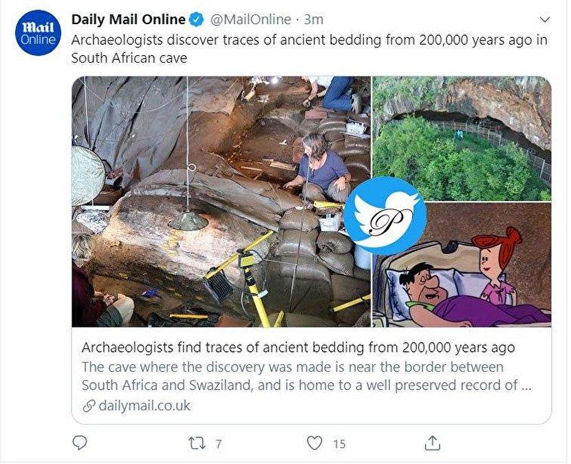 کشف رختخواب ۲۰۰ هزار ساله+عکس