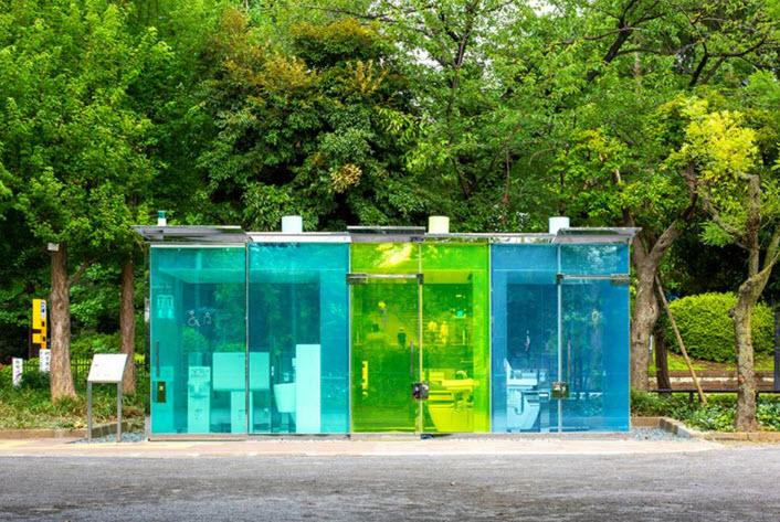 چرا در توکیو سرویسهای بهداشتی شفاف میسازند؟!