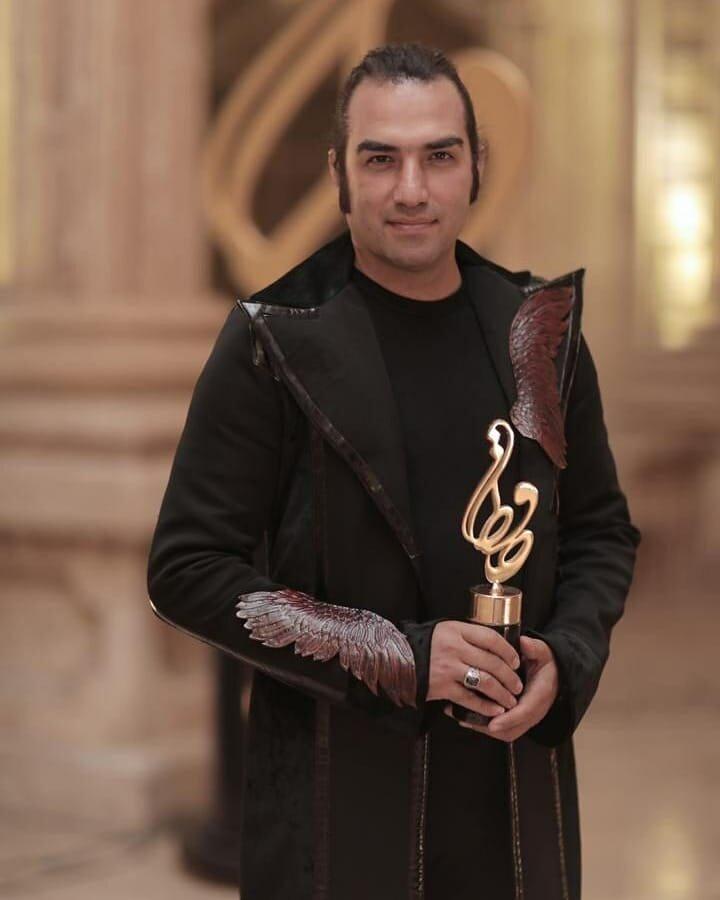کت خاص رضا یزدانی در جشن حافظ +عکس