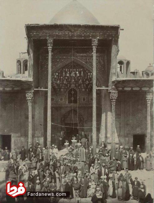 عکسی از حرم امام حسین(ع) در سال ۱۲۹۰ شمسی