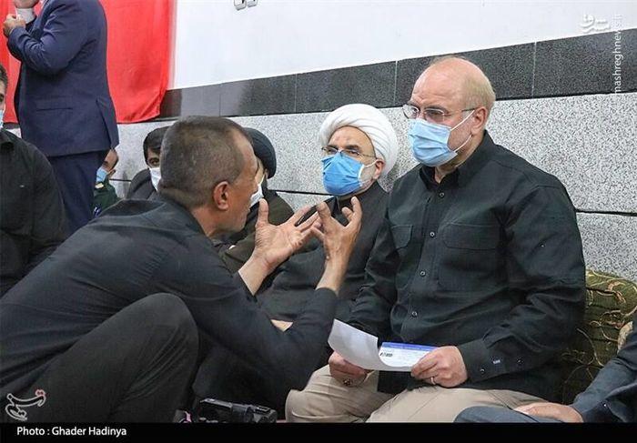 گلایه های مرد خوزستانی به قالیباف+عکس