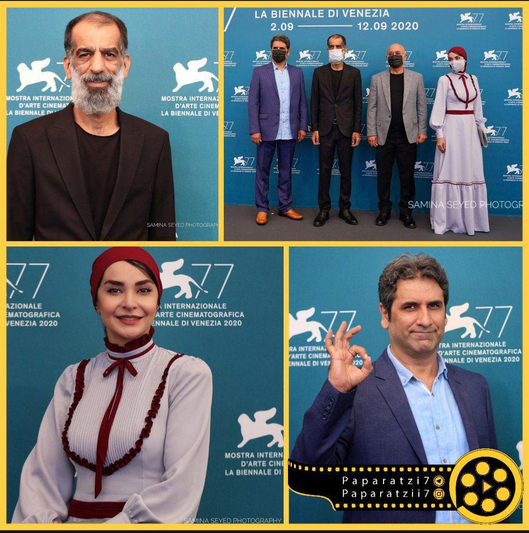 پوشش متفاوت بازیگر ایرانی در جشنواره ونیز +عکس