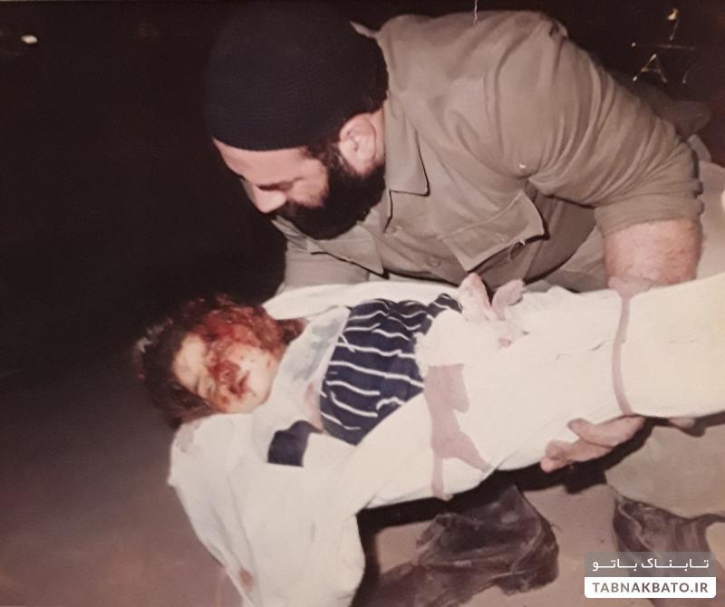 عکسی غمانگیز و دیده نشده از بمباران تهران ۱۳۶۷