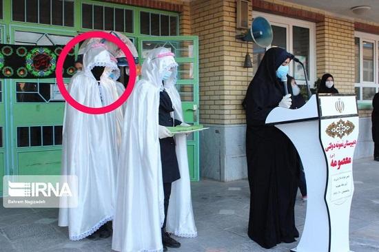 عکس خاص از بازگشایی مدارس، سوژه شد