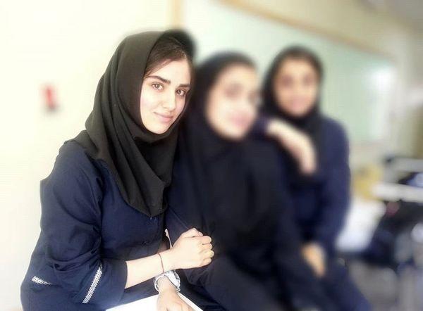 هانیه غلامی در دوران دبیرستان + عکس
