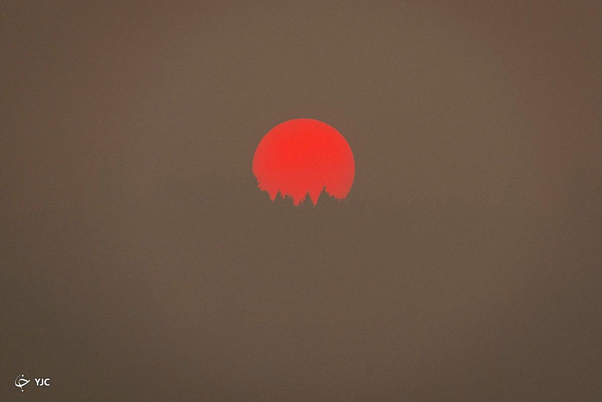 تصویری باورنکردنی از خورشید در آمریکا