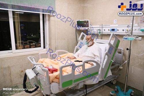 عیادت از شیخ حسین انصاریان در بیمارستان+عکس