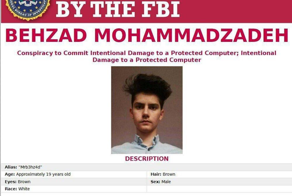 FBI یک جوان ایرانی را تحت تعقیب قرار داد+ عکس