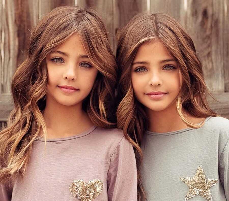 زیباترین دوقلوهای جهان با طرفداران میلیونی