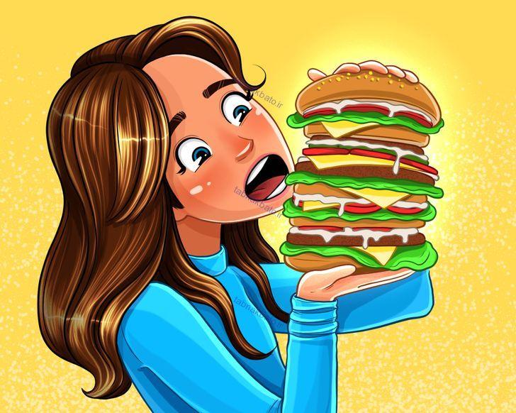 میل شدید به برخی از تنقلات و مواد خوراکی نشانه چیست؟