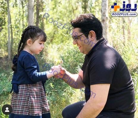 شباهت جالب مجری ورزشی و دخترش+ عکس