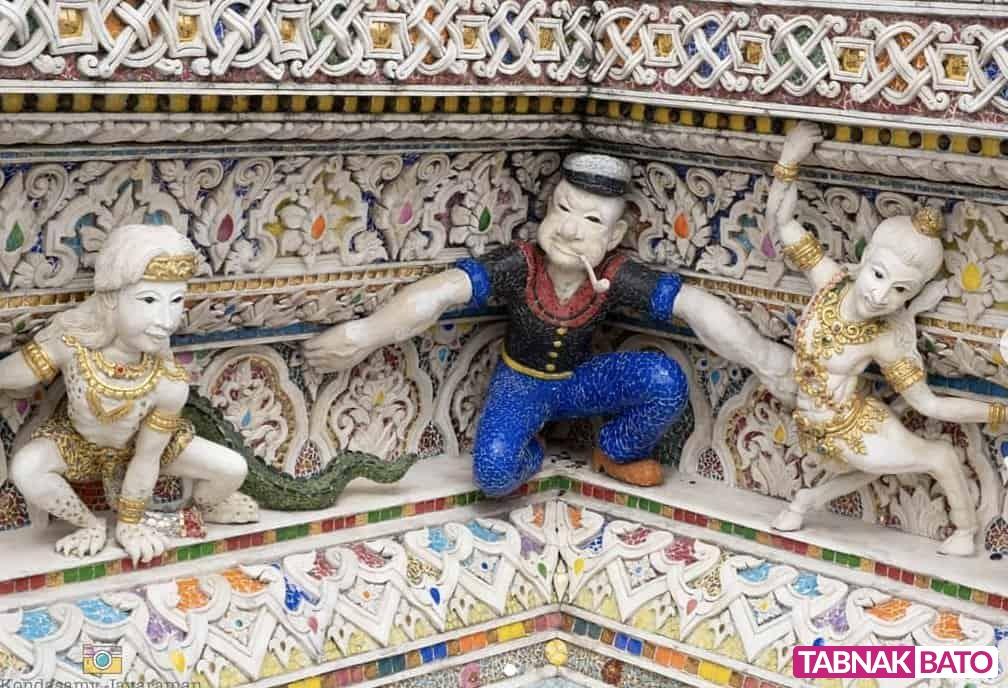 معبد دیویدبکهام، عجیبترین معبد تایلند