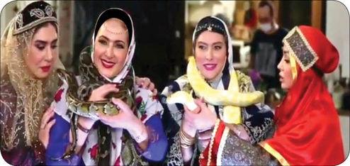 انتقاد از حیوان آزاری بازیگران زن در شامایرانی +عکس
