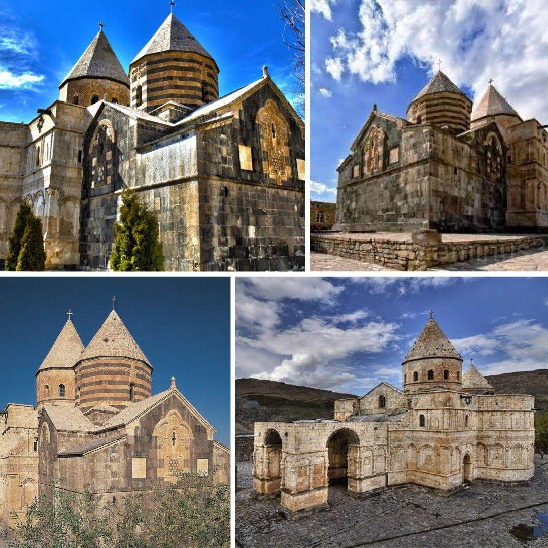 قدیمی ترین کلیسای جهان در ایران + عکس