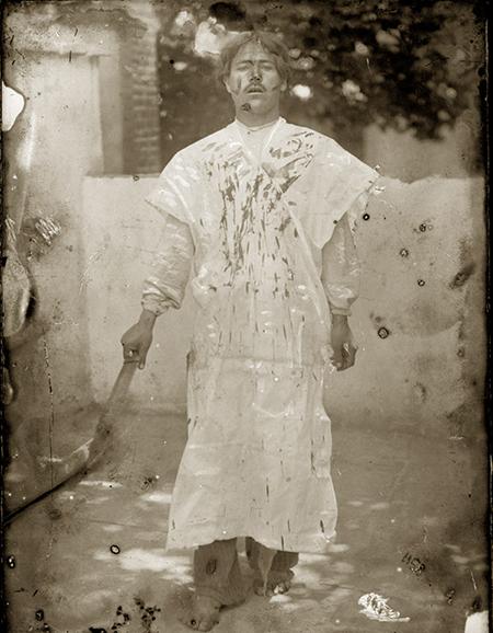 مراسم قمه زنی در روز عاشورا در دوره قاجار