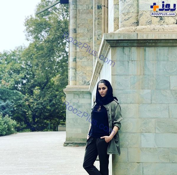 تیپ بازیگر زن سریال همگناه در کاخ سعد آباد + عکس