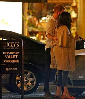 مگان و هری در آمریکا بعد از جدایی از خانواده سلطنتی +عکس