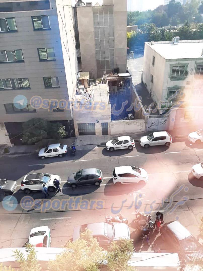لیدر باشگاه استقلال تهدید به خودکشی کرد+ عکس