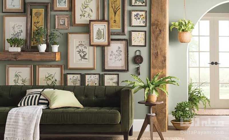 ایدههایی برای ایجاد دیوار گالری در خانه