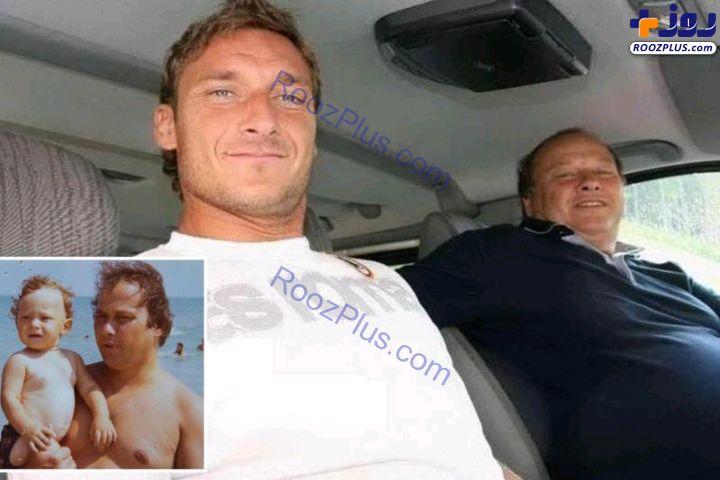 پدر فوتبالیست معروف به خاطر کرونا درگذشت + عکس