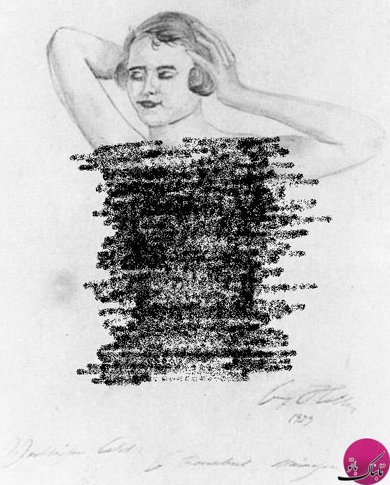 نقاشی جنجالی هیتلر از خواهرزادهاش از دروغ تا واقعیت