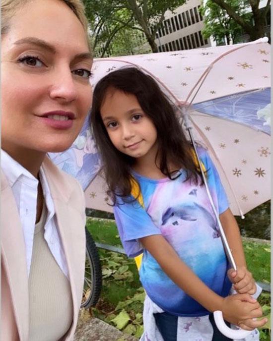 مهناز افشار در کنار دخترش+عکس